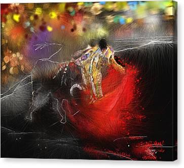 Toroscape 18 Canvas Print by Miki De Goodaboom