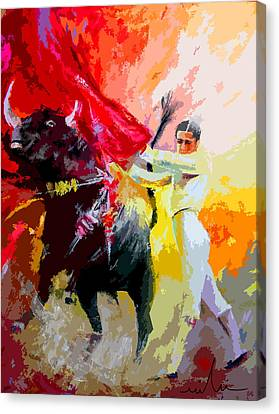 Toroscape 41 Canvas Print by Miki De Goodaboom