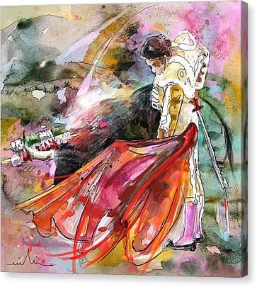 Toroscape 45 Canvas Print by Miki De Goodaboom