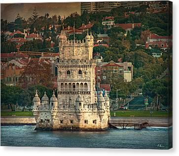 Torre De Belem Canvas Print by Hanny Heim