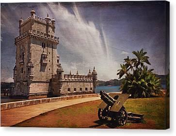 Torre De Belem Lisbon Canvas Print