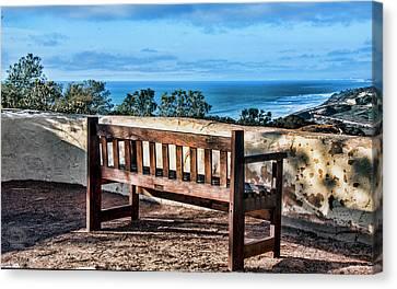 Torrey Pines View Canvas Print