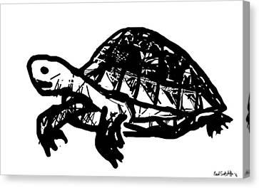 Childlike Canvas Print - Tortoise  by Paul Sutcliffe