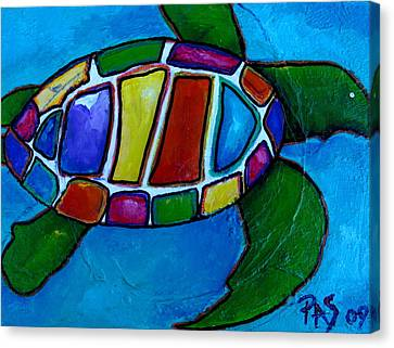 Tortuga Canvas Print by Patti Schermerhorn