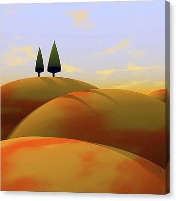 Rendering Canvas Print - Toscana 1 by Cynthia Decker