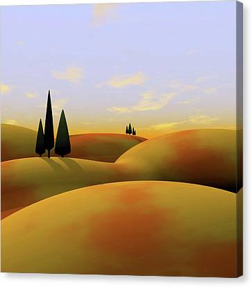 Tuscan Canvas Print - Toscana 3 by Cynthia Decker