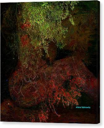 Total Immersion- Tevilah 1 Canvas Print by Arlene Rabinowitz