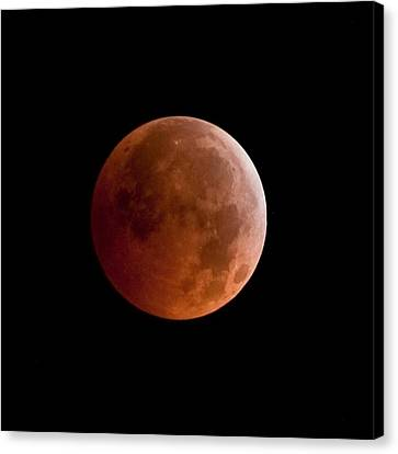 Total Lunar Eclipse Canvas Print