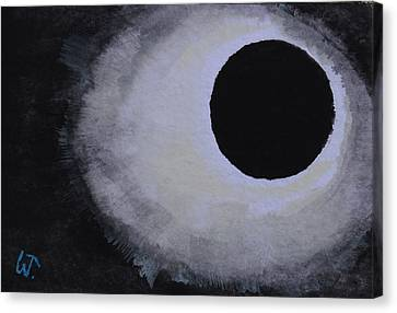Total Solar Eclipse Canvas Print