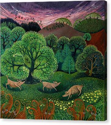 Totally Organic  Canvas Print by Lisa Graa Jensen