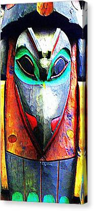 Totem 7 Canvas Print by Randall Weidner