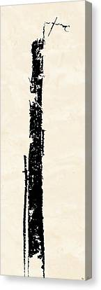 Canvas Print featuring the digital art Totem by Ken Walker