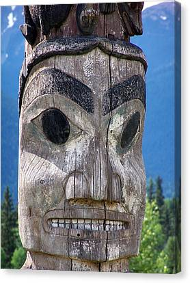 Totem Canvas Print by Marty Koch