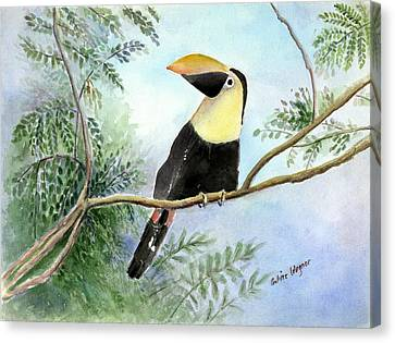 Toucan Canvas Print by Arline Wagner