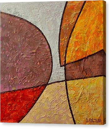 Canvas Print featuring the mixed media Touch by Dragica  Micki Fortuna