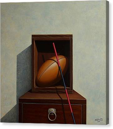 Touch Canvas Print by Horacio Cardozo