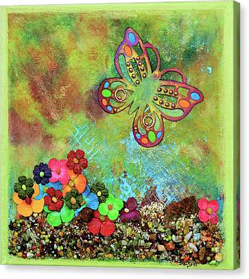 Touched By Enchantment Canvas Print by Donna Blackhall
