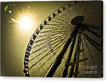 Touching The Sun Canvas Print by Alessandro Giorgi Art Photography