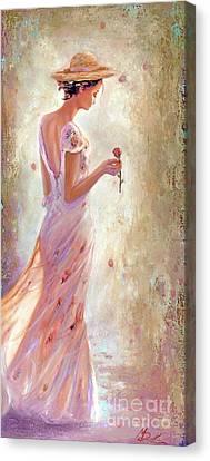 Toujours De Fleurs Canvas Print
