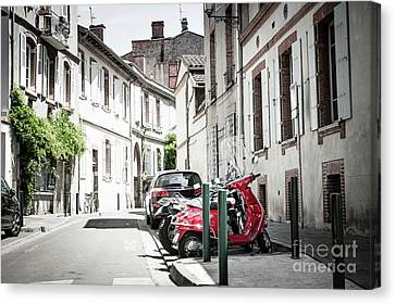 Canvas Print featuring the photograph Toulouse Street by Elena Elisseeva