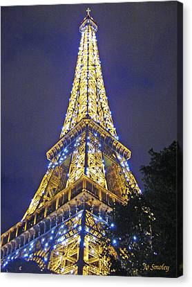 Tour Eiffel 2007 Canvas Print