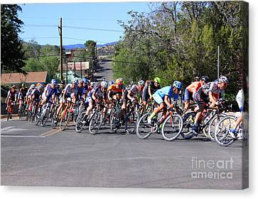 Tour Of The Gila 1 Canvas Print by Natalie Ortiz