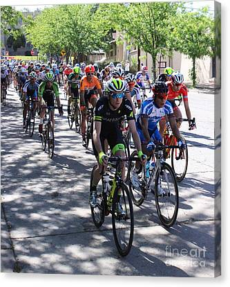 Tour Of The Gila 3 Canvas Print by Natalie Ortiz
