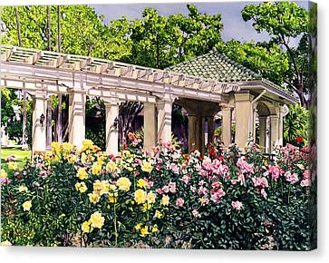 Tournament Of Roses Canvas Print by David Lloyd Glover