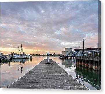 Canvas Print featuring the photograph Toward The Dusk by Greg Nyquist
