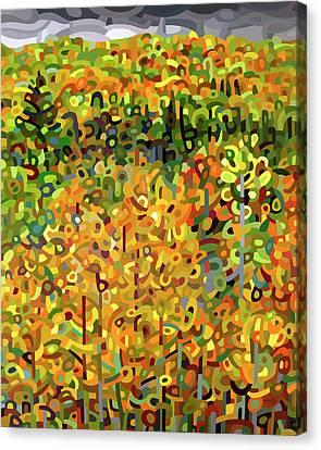 Towards Autumn Canvas Print