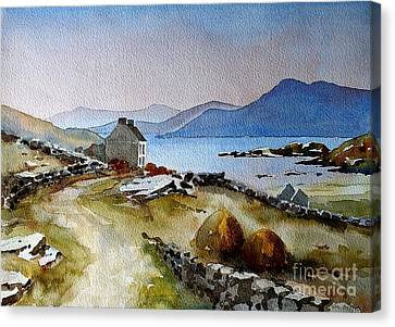 Towards Meelrea From Inisboffin Canvas Print