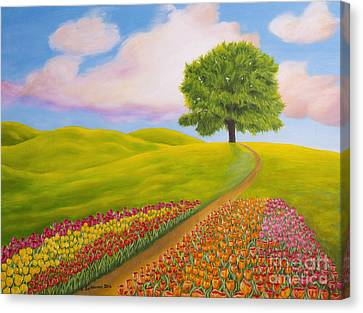 Towards Spring Canvas Print by Veikko Suikkanen