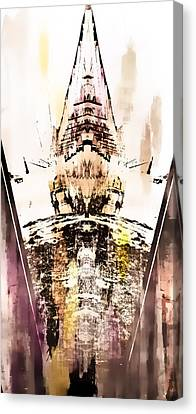 Ghostly Canvas Print - Tower Abstract by Tom Gowanlock