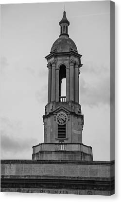 Tower At Old Main Penn State Canvas Print by John McGraw