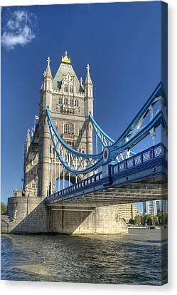 Tower Bridge 2 Canvas Print by Chris Day