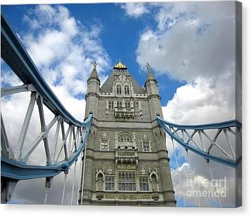 Tower Bridge 2 Canvas Print by Madeline Ellis