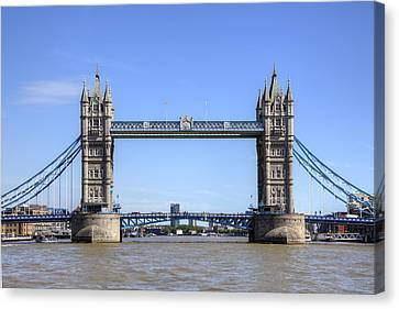 Tower Bridge London Canvas Print by Joana Kruse