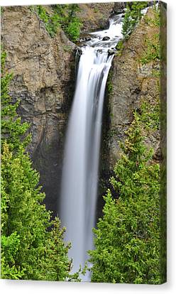 Tower Fall Canvas Print by Greg Norrell