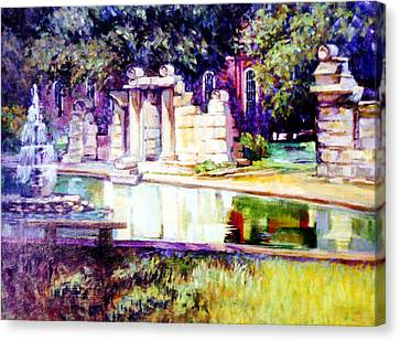Tower Grove Park Canvas Print by Stan Esson