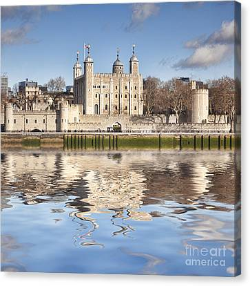 Tower Of London Canvas Print by Colin and Linda McKie