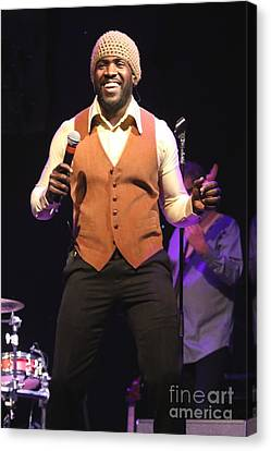 Tower Of Power Singer Marcus Scott Canvas Print by Concert Photos