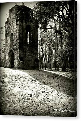Tower Of St Georges Parish Church Canvas Print by Melissa Wyatt