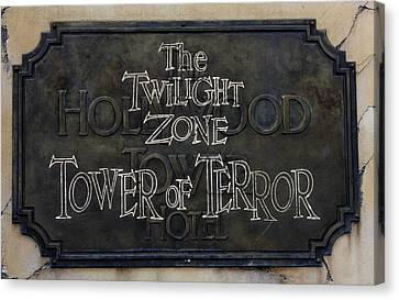 Tower Of Terror Canvas Print by David Nicholls