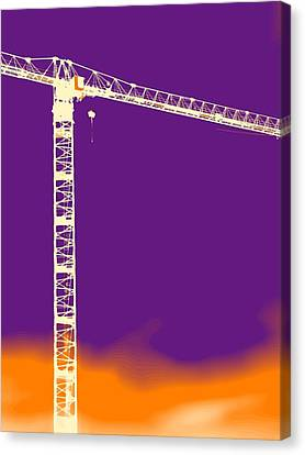 Towering 12  Canvas Print by Wendy J St Christopher