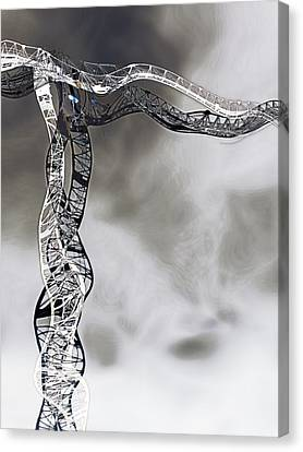 Towering 15  Canvas Print by Wendy J St Christopher