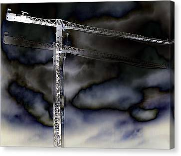 Towering 7 Canvas Print by Wendy J St Christopher