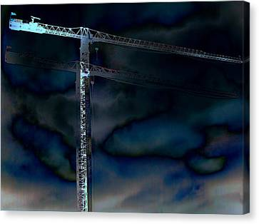 Towering 8 Canvas Print by Wendy J St Christopher