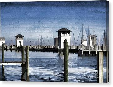 Towers And Masts Canvas Print