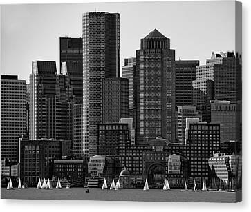 Towers Canvas Print by Andreas Feldtkeller