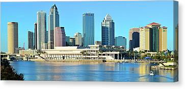 Devil Ray Canvas Print - Towers By The Bay by Frozen in Time Fine Art Photography